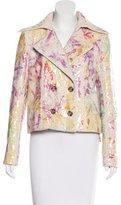 Chanel 2015 Embellished Tweed Jacket