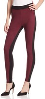 Hue Colorblocked Microsuede Leggings