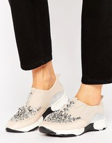 Carvela Lola Embellished Sneakers