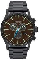 Nixon Men's Sentry Chrono Bracelet Watch