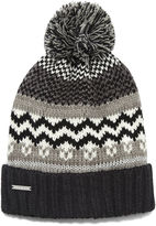 Nine West Fairisle Hat With Lurex