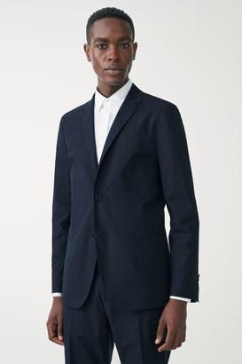 Cos Slim-Fit Organic Cotton Blazer