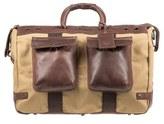 Will Leather Goods Men's Traveler Duffel Bag - Brown