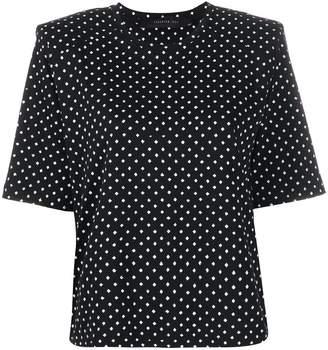 FEDERICA TOSI polka dot-print T-shirt