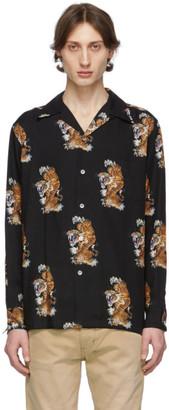 Wacko Maria Black Tim Lehi Edition Hawaiian Shirt