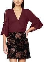 New Look Women's Mason Flare Tie Wrap Shell Blouse