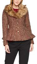Joe Browns Women's Fabulously Fur Collar Coat Jacket
