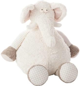 "Nourison Snuggle Buddies 26"" Oversized Elephant Plush Pillow"