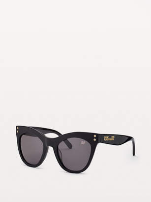 Diane von Furstenberg Madilyn Cat-Eye Sunglasses