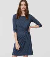 LOFT Tall Mosaic Long Sleeve Dress