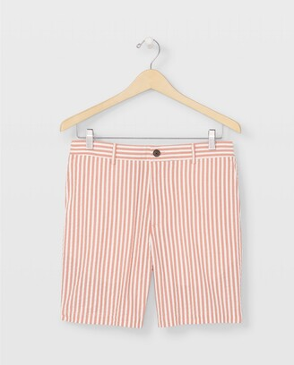 Club Monaco Baxter Seersucker Shorts