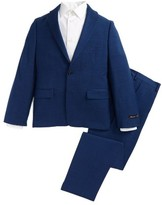 Michael Kors Boy's Mini Tonal Stripe Wool Suit