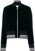 Lanvin velvet bomber jacket