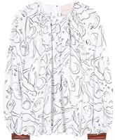 Roksanda Wallasley Printed Silk-twill Blouse