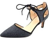 Franco Sarto Darlis Pointed Toe Canvas Heels.