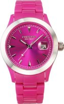 K & Bros Unisex 9539-3 Ice-Time Color Time Violet Watch