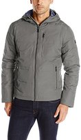 London Fog Men's Bismark Down Hipster with Attached Hood