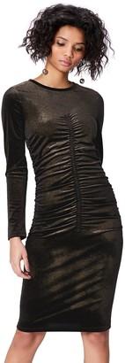 Find. Amazon Brand Women's Metallic Dress