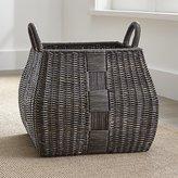 Crate & Barrel Auburn Square Basket Large