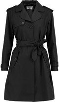 Sandro Malory cotton and linen-blend trench coat