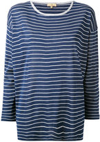 Fay striped shift top - women - Silk - M