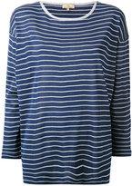 Fay striped shift top - women - Silk - S