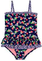 Hula Star Toddler Girl's Sweet Raspberries One-Piece Swimsuit