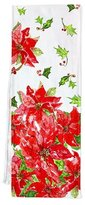 April Cornell Poinsettia Table Runner