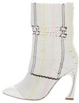 Christian Dior Knit Ankle Boots