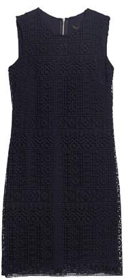 DKNY Lace Shift Dress