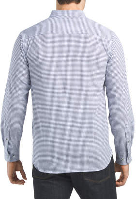 Performance Super Soft Geo Print Shirt