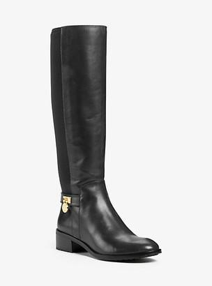 Michael Kors Hamilton Stretch Leather Boot