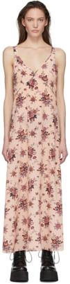 R 13 Pink Floral Slip Dress