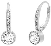 Bliss Sterling Silver Drop Earrings With Swarovski® Crystals