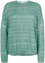 M Missoni embroidered knitted top - women - Polyamide - S