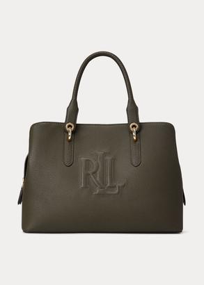 Ralph Lauren Leather Medium Hayward Satchel