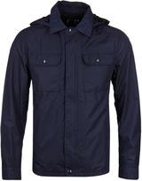 Cp Company Navy Micro M Goggle Overshirt