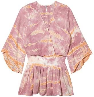 Young Fabulous & Broke Ellery Dress (Peach/Bamboo) Women's Clothing