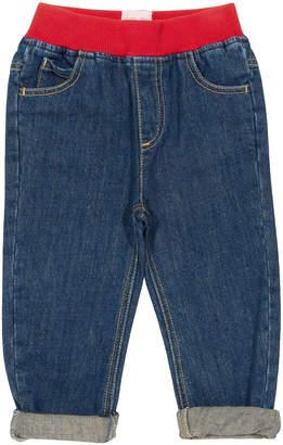 Kite Boys' Denim Pants and Jeans Denim - Denim Organic Cotton Pull-Up Jeans - Infant & Toddler
