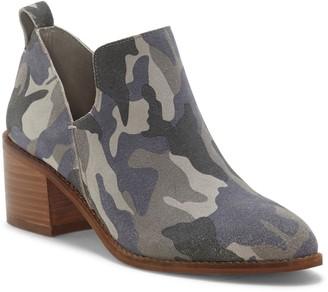 1 STATE Idania Leather Block Heel Bootie