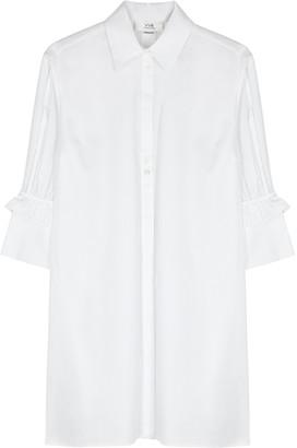 Victoria Victoria Beckham White cotton shirt dress