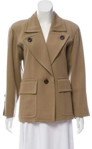 Saint Laurent Structured Blazer Jacket