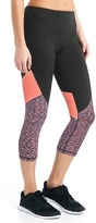 Gap GapFit Blackout gFast colorblock high rise capris