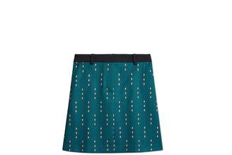 Tory Burch Printed Tech Twill Golf Skirt