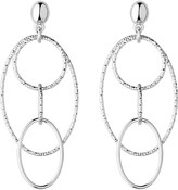 Links of London Aurora silver loop chandelier earrings