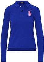 Polo Ralph Lauren Skinny-Fit Big Pony Polo