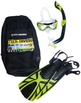 US Diver Bonito Junior Snorkel Set Yellow S / M