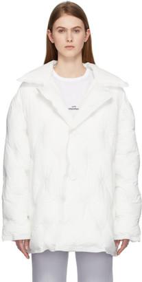 Maison Margiela White Recycled Nylon Jacket