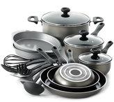 Farberware Nonstick Dishwasher Safe 17-Pc. Cookware Set