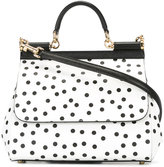 Dolce & Gabbana polka dot Sicily shoulder bag - women - Calf Leather - One Size